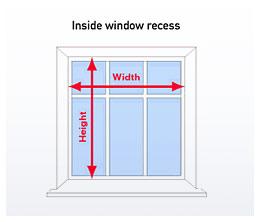blind fitting instructions buy blinds online from. Black Bedroom Furniture Sets. Home Design Ideas