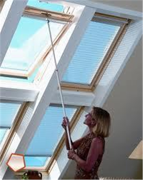 Roof blind telescopic control rod velux fakro more for Velux skylight control rod